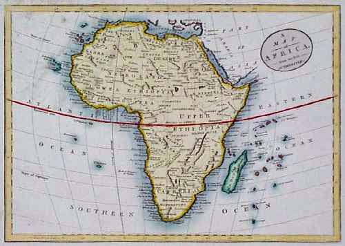 map of liberia west africa. 213afrc: Fascinating 1812 Map