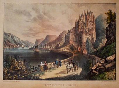 Prints Old Amp Rare Currier Amp Ives Lithograph Antique