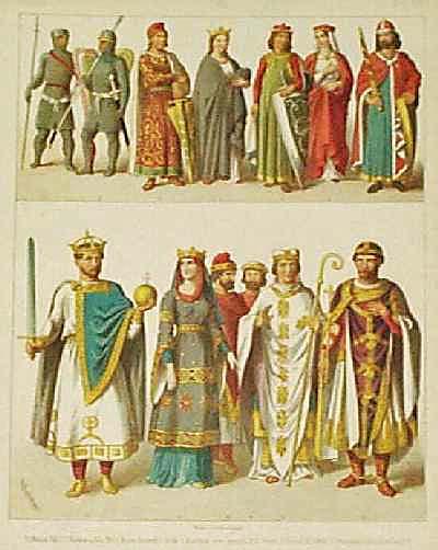 Medieval Theatre Costumes