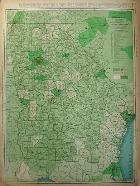 Prints Old Rare Georgia Antique Maps Prints