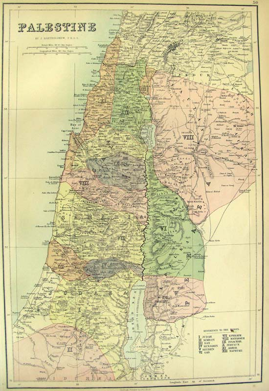 Prints Old Rare Holy Land - Palestine location