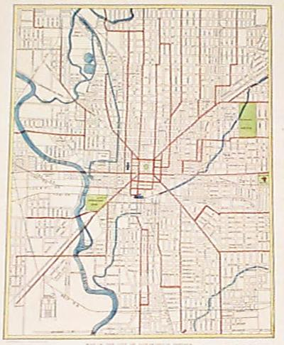 Indianapolis map pdf