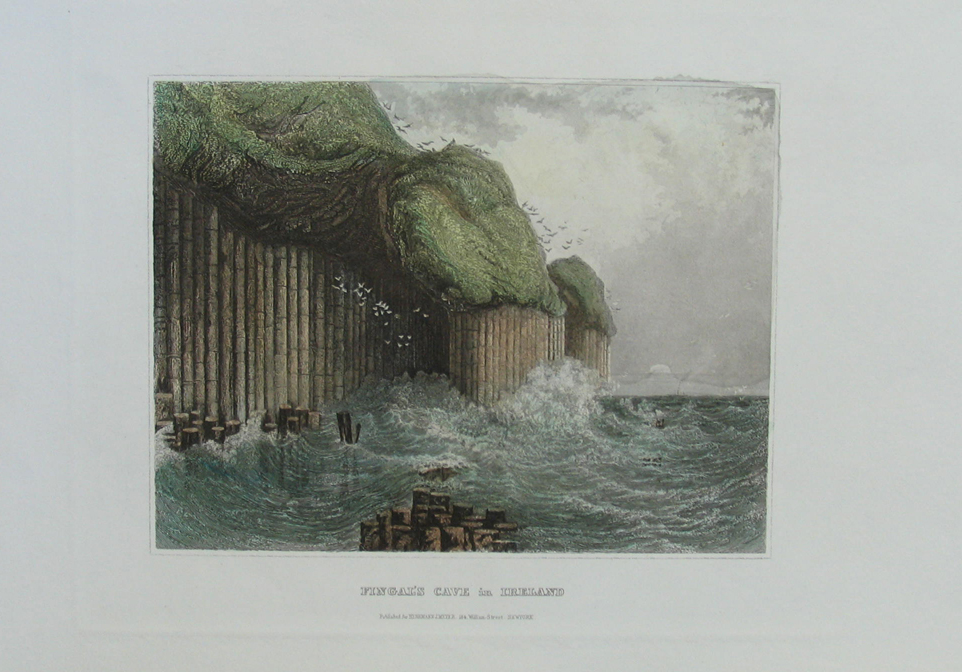 207ire 1850 Meyer View of Fingal 39s Cave Ireland