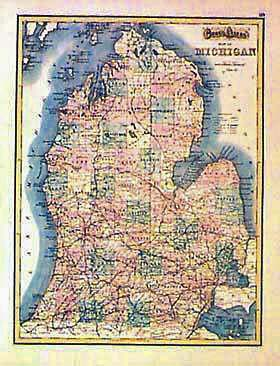 Prints Old  Rare  Michigan page