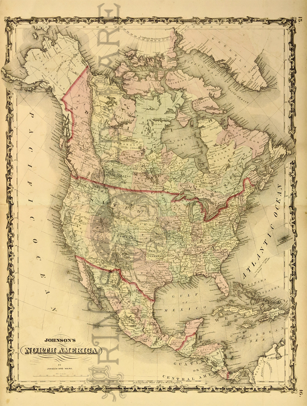 Map Of Old America.Prints Old Rare North America Antique Maps Prints