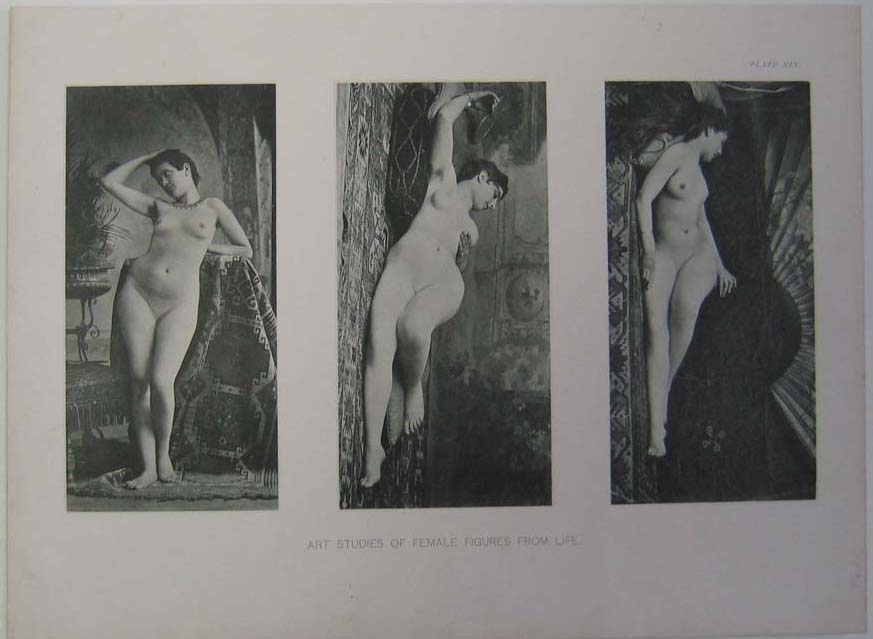 234ero: 1894 Gorgeous Female Nude Figure Models.