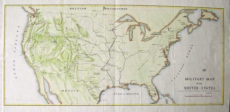 Prints Old Rare Old West Antique Maps Prints