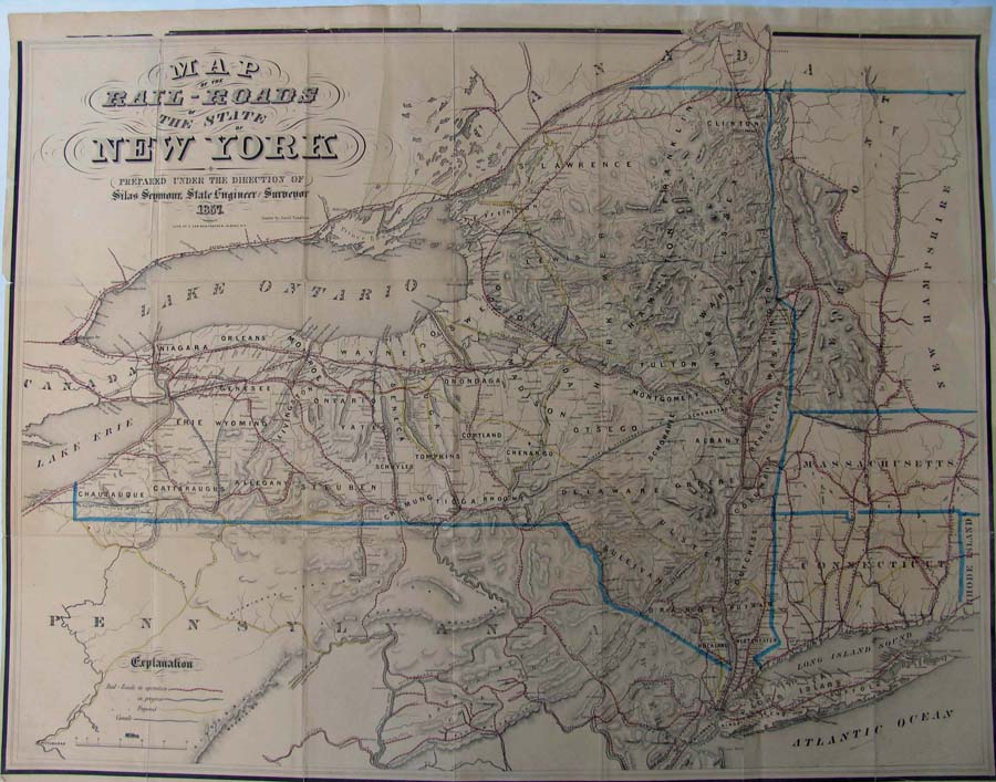 Prints Old Rare Railroads Antique Maps Prints