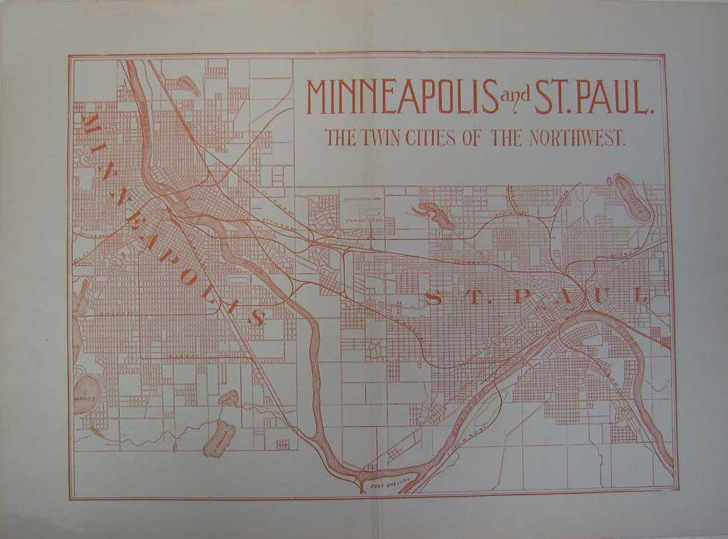 Prints Old  Rare  St Paul  Minneapolis MN page