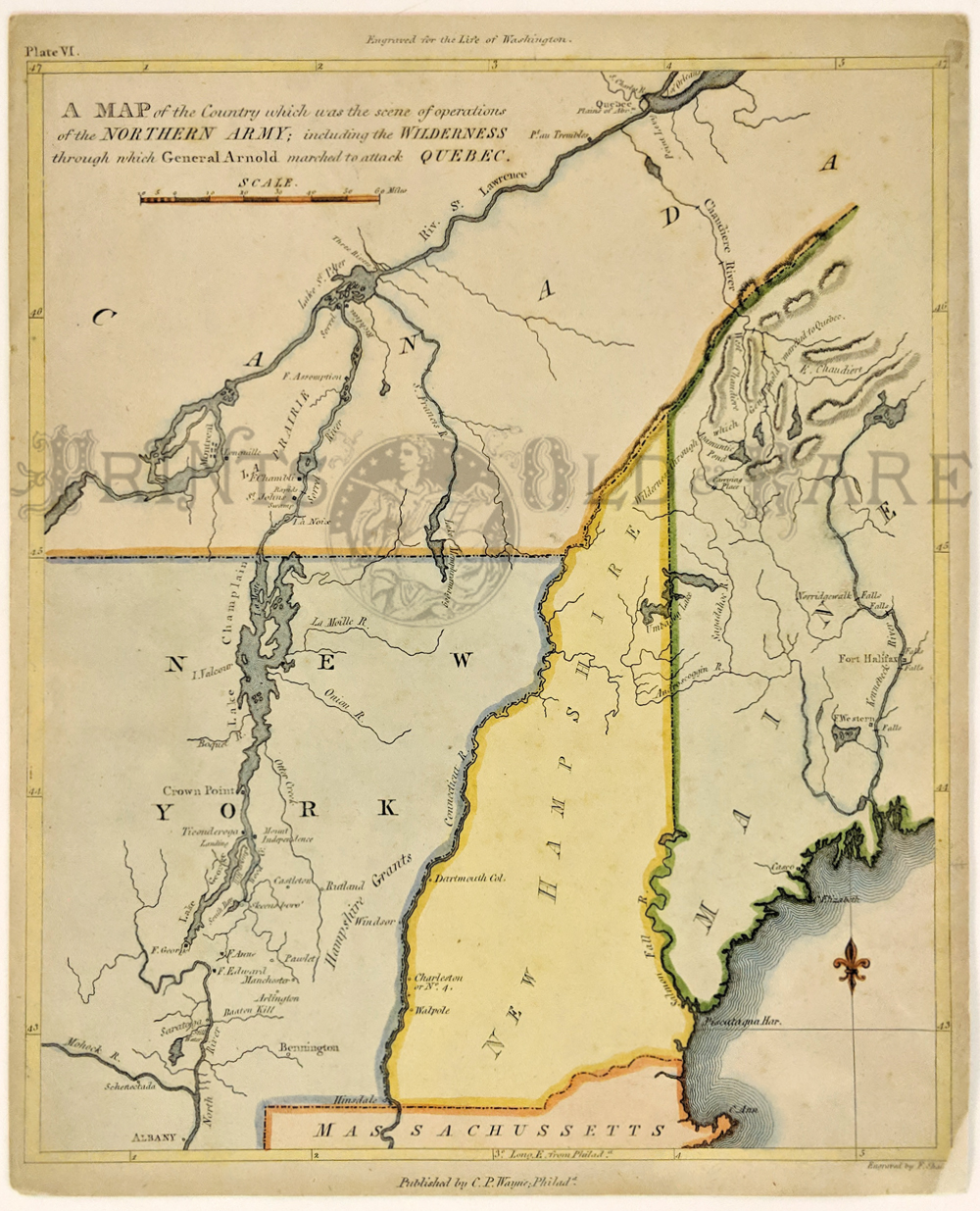 revolutionary war map route to quebec this original map from marshall s life of washington is led a map of the country which was the scene of