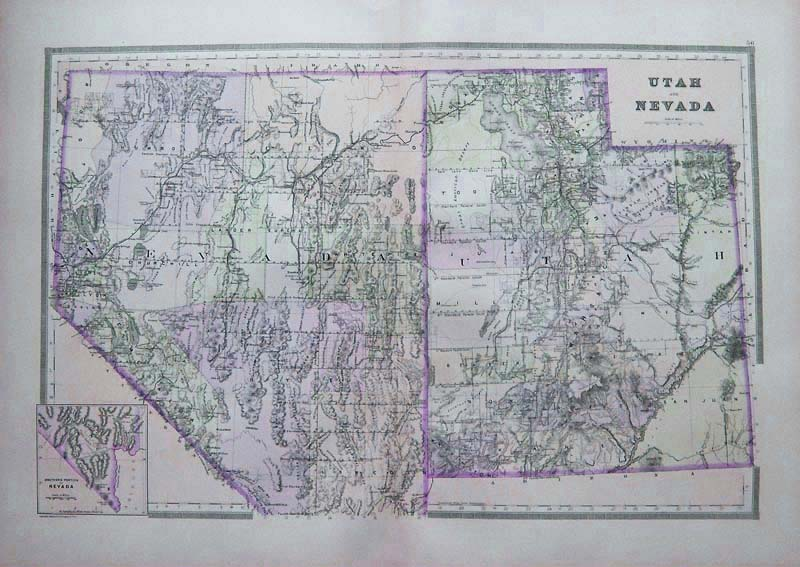 Prints Old & Rare - Utah - Antique Maps & Prints on riverton utah, spanish fork utah, santorini village south jordan utah, murray utah, taylorsville utah,