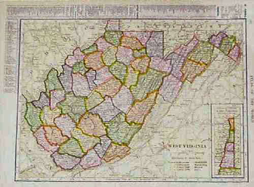 Prints Old Rare West Virginia Antique Maps Prints
