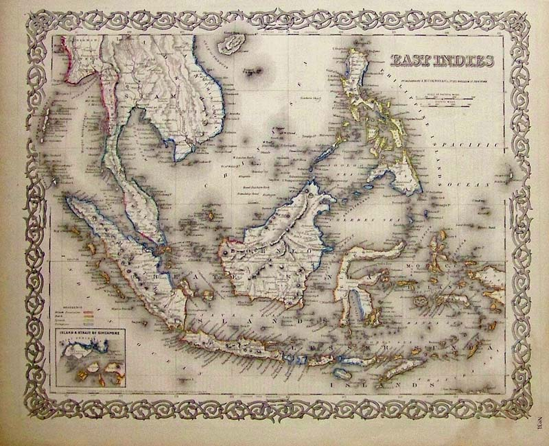 Prints Old & Rare - Asia - Antique Maps & Prints