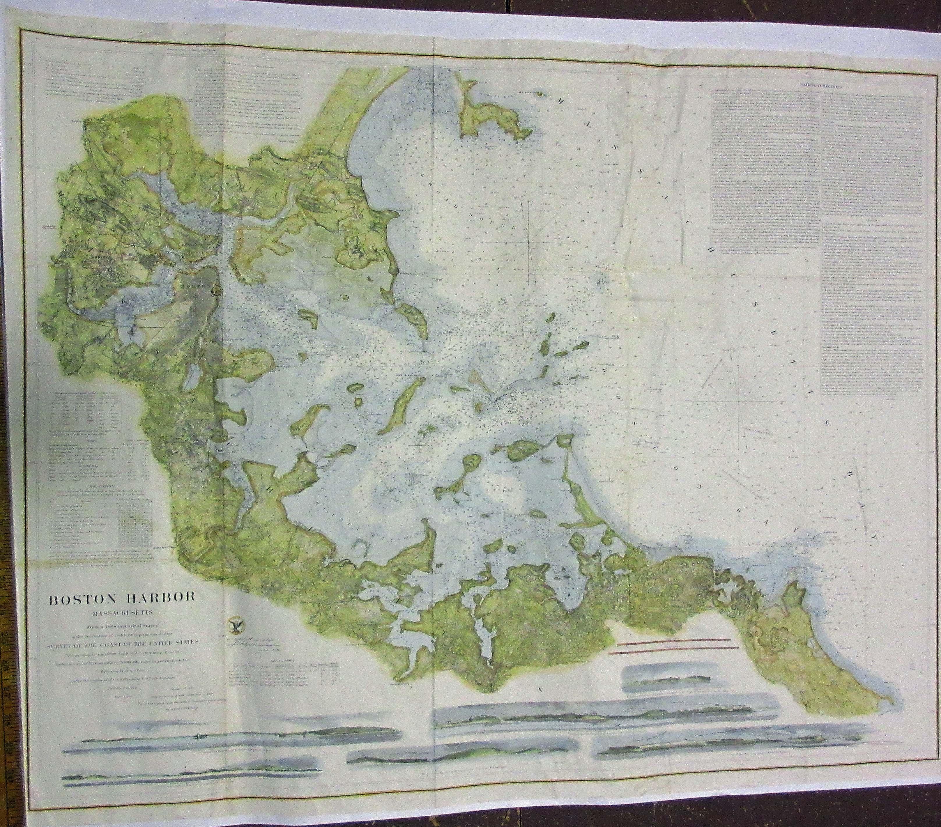 Antique Boston Map.Prints Old Rare Boston Ma Antique Maps Prints