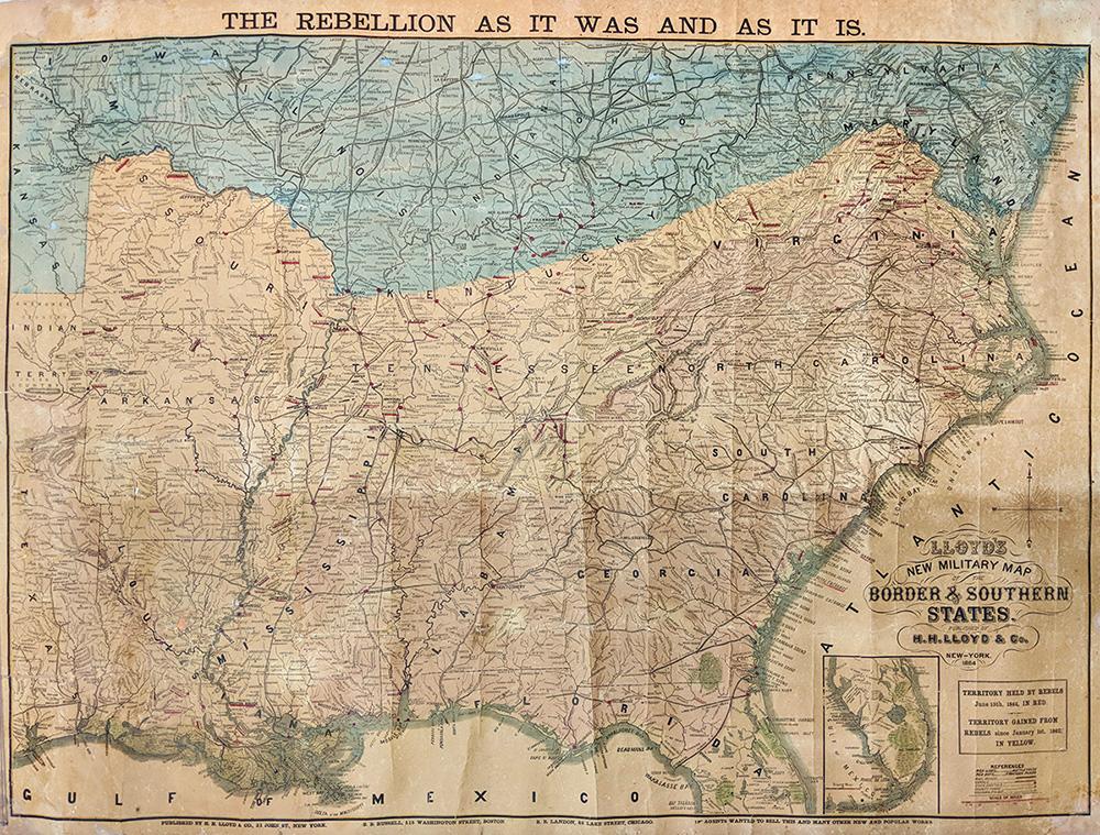 Prints Old & Rare - Civil War - Antique Maps & Prints