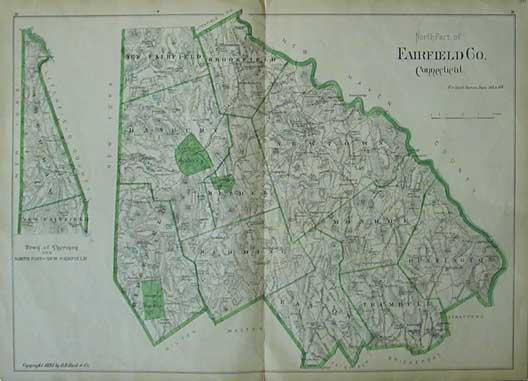 Prints Old & Rare - Connecticut - Antique Maps & Prints