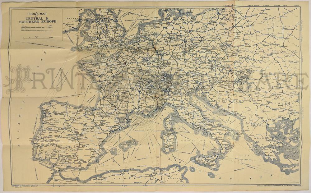 Prints Old & Rare - Europe - Antique Maps & Prints