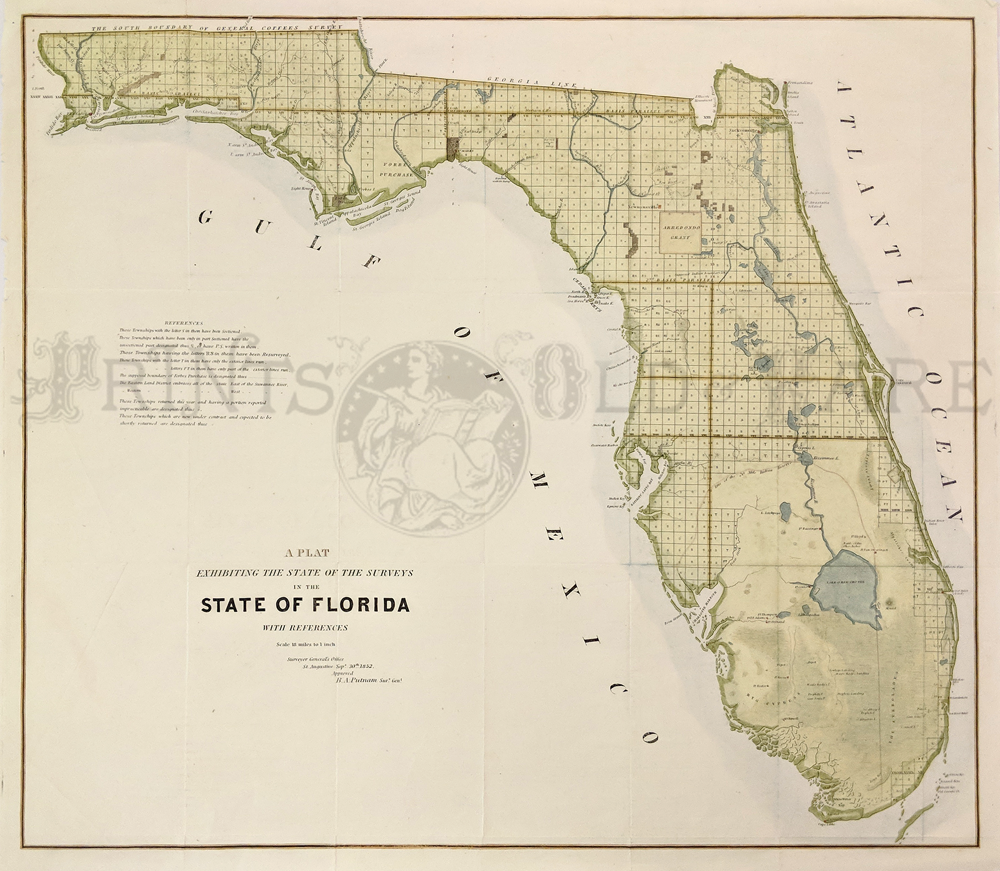 Prints Old & Rare - Florida - Antique Maps & Prints on