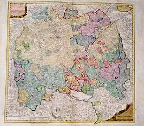 Prints Old Rare Germany Antique Maps Prints
