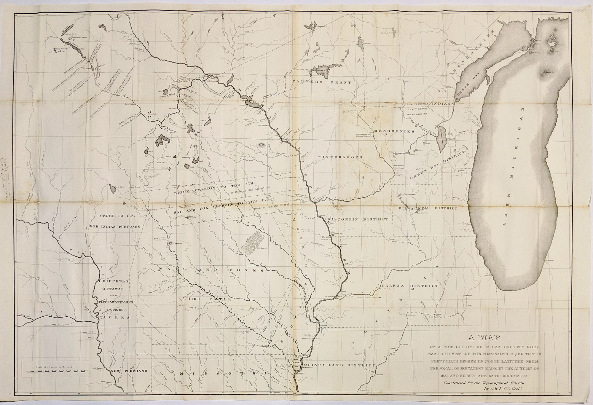 Prints Old Rare Native Americans Antique Maps Prints - Us-indian-territory-map