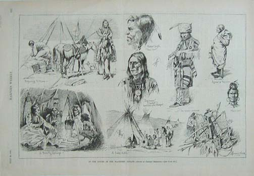 Prints Old & Rare - Native Americans - Antique Maps & Prints