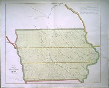 Prints Old & Rare - Iowa - Antique Maps & Prints