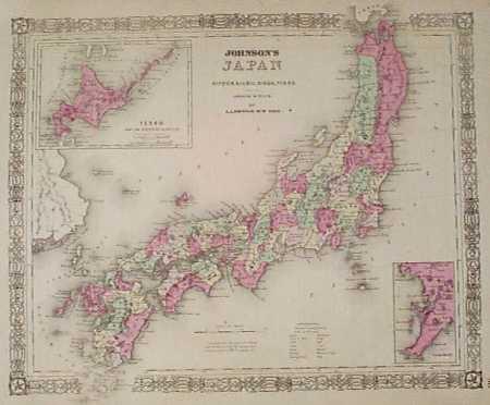 Prints Old & Rare - Japan - Antique Maps & Prints