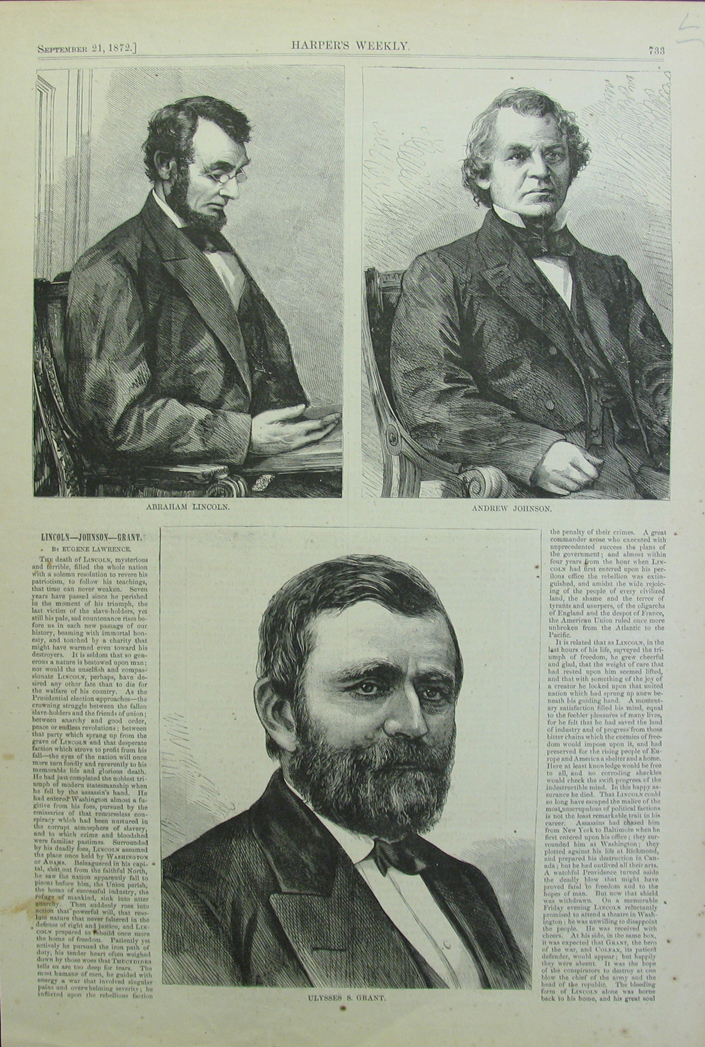 Prints Old Amp Rare Abraham Lincoln Antique Maps Amp Prints