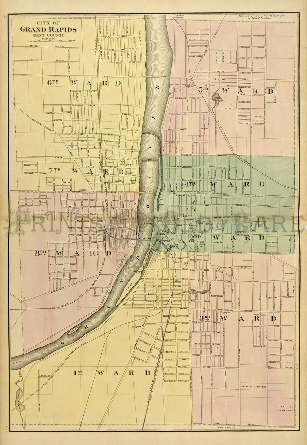 Prints Old & Rare - Michigan - Antique Maps & Prints on