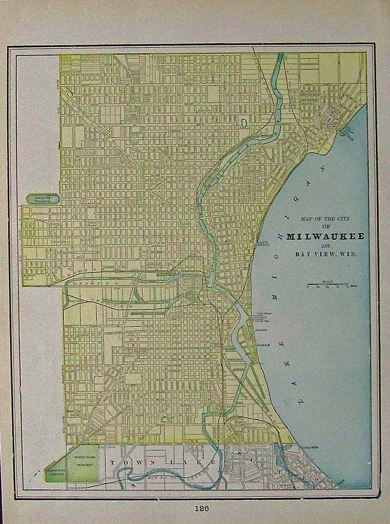 Prints Old & Rare - Milwaukee, WI - Antique Maps & Prints
