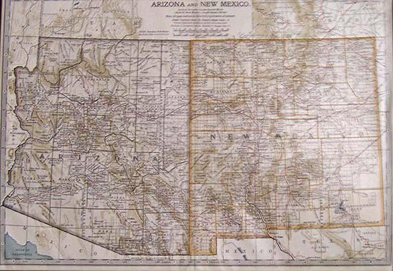 Prints Old & Rare - New Mexico - Antique Maps & Prints