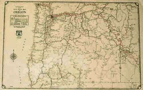 Prints Old & Rare - Oregon - Antique Maps & Prints on a physical map of oregon, park map of oregon, highway map of oregon, a political map of oregon, river map of oregon, street map of oregon, rail map of oregon, airport map of oregon,