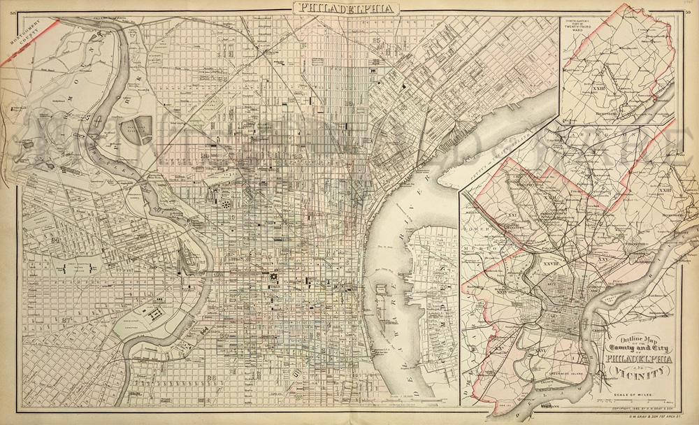 Prints Old & Rare - Philadelphia, PA - Antique Maps & Prints