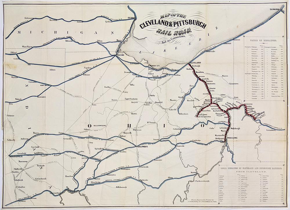 Prints Old & Rare - Pittsburgh, PA - Antique Maps & Prints