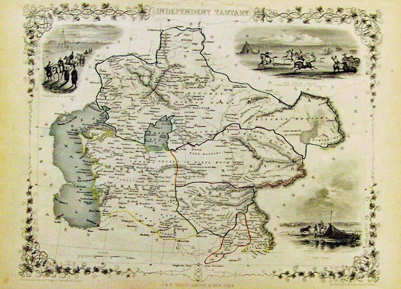Prints Old Rare Russia Antique Maps Prints