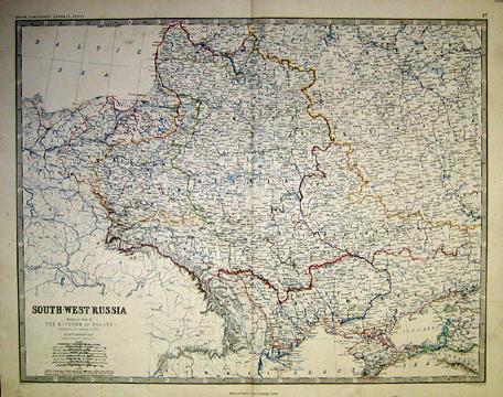 Prints Old & Rare - Russia - Antique Maps & Prints on map of benin kingdom, map of samoa kingdom, map of mali kingdom,