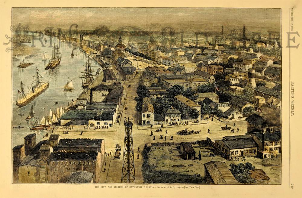 - Prints Old & Rare - Savannah, GA - Antique Maps & Prints