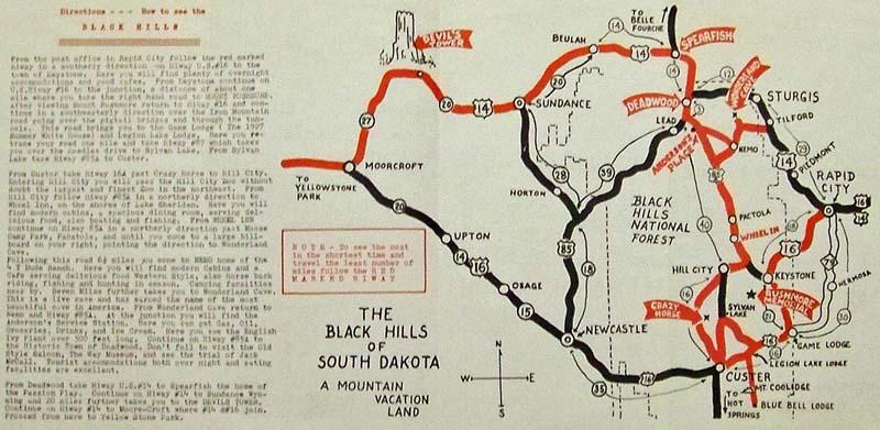 Prints Old & Rare - South Dakota - Antique Maps & Prints