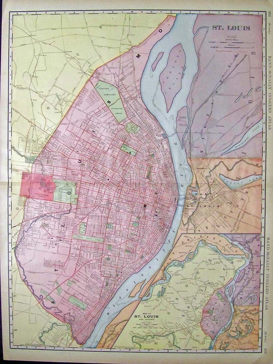 Prints Old & Rare - St. Louis, MO - Antique Maps & Prints