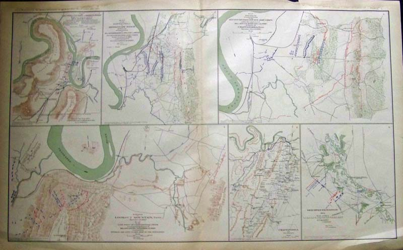 Prints Old Rare Tennessee Antique Maps Prints - Antique looking maps