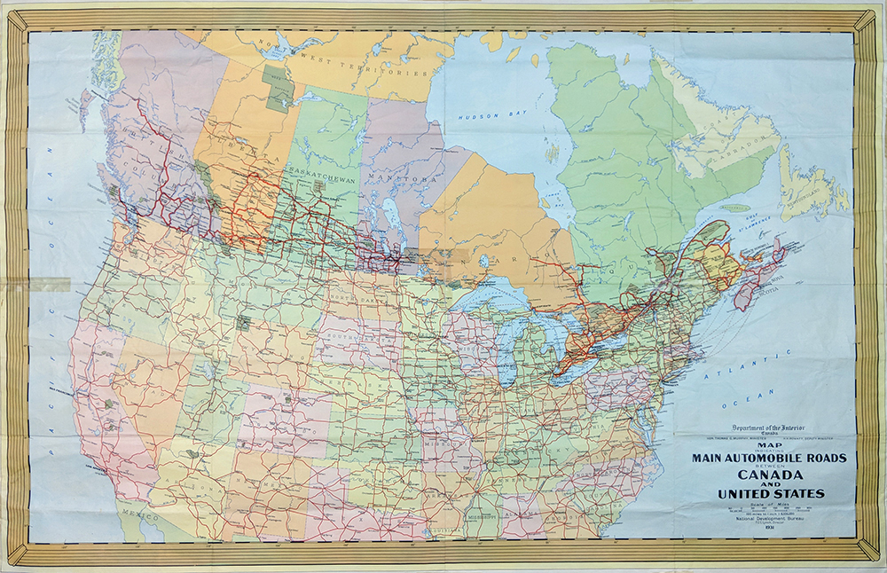 Prints Old Rare United States Of America Antique Maps Prints - Map-of-east-coast-of-us-and-canada