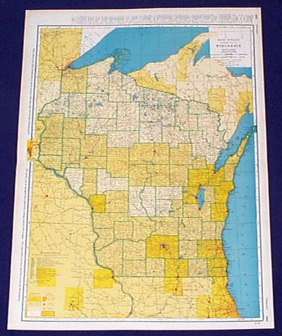 Prints Old Rare Wisconsin Antique Maps Prints - Large scale world map